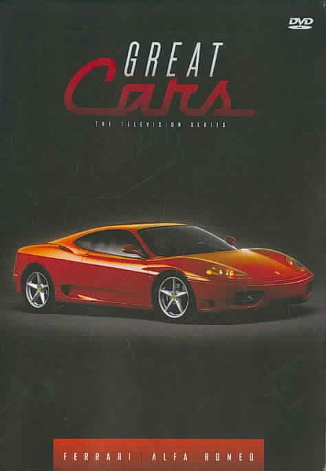 GREAT CARS:FERRARI/ALFA ROMEO BY GREAT CARS (DVD)